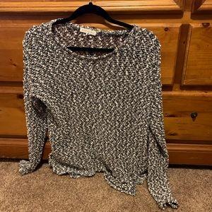 Aeropostale long sleeve see-through shirt